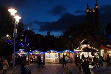 when are the christmas markets on in south wales wales