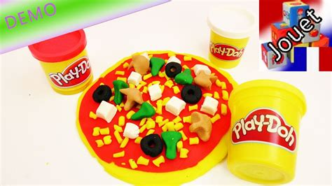 gigantesque pizza en p 226 te 224 modeler play doh jouer 224 faire de la v 233 ritable cuisine fast food