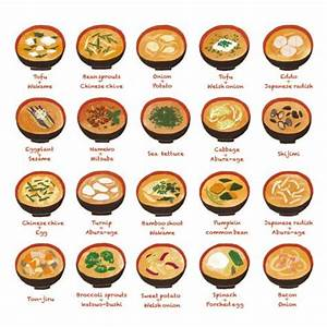 Different types of soup Anime food is like porn to me