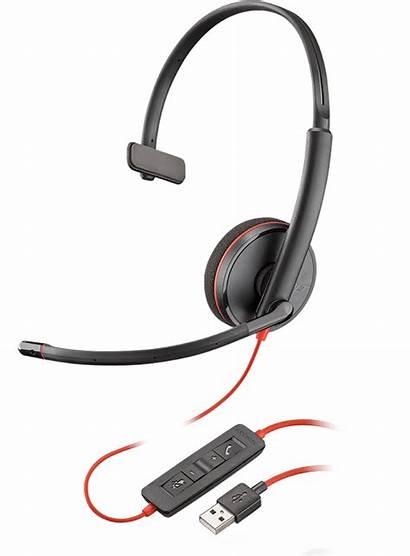 C3215 Blackwire Plantronics Kunstlederen Headset Kusse Enkel