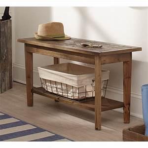 Alaterre, Renewal, Reclaimed, Wood, Entryway, Bench, U0026, Reviews
