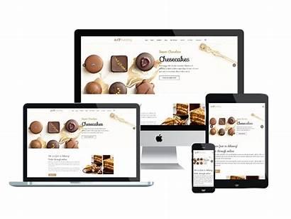 Responsive Website Bakery Templates Template Theme Restaurante
