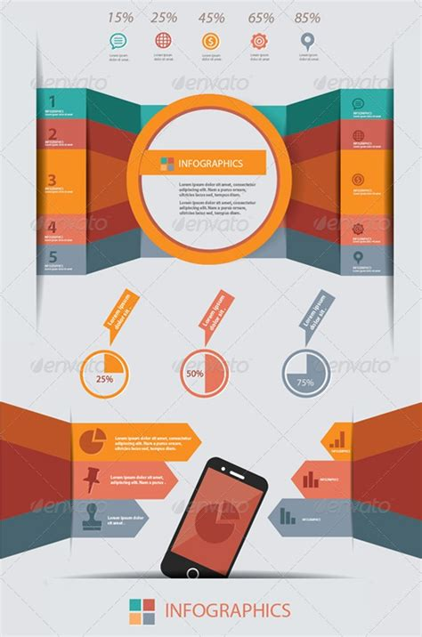 18 infographic psd template images free infographic