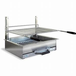 Barbecue A Poser : barbecue charbon de bois poser en inox n 600 b zieux ~ Melissatoandfro.com Idées de Décoration