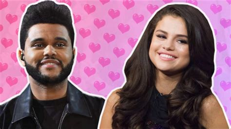 The Weekend and Selena Gomez Cute Date Moments - YouTube