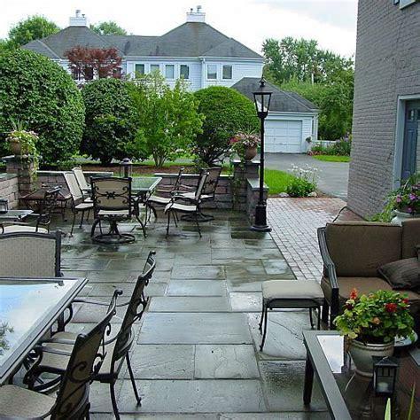 landscape design ideas w patio water feature in