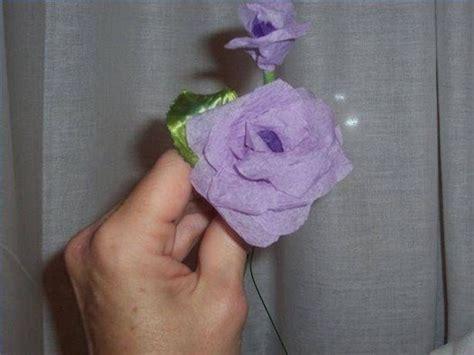Come fare fiori di carta crespa Fiori di carta fiori di carta