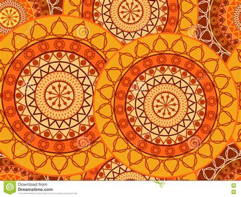 Mandala Seamless Pattern. Geometric Pattern In Buddhist