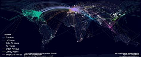 mapping the world s biggest airlines r bloggers