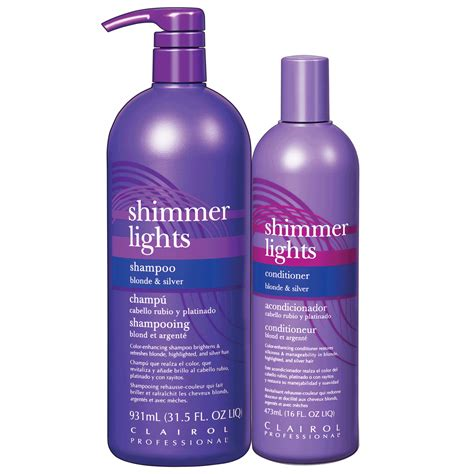 shimmering lights conditioner shimmer lights shoo conditioner duo clairol cosmoprof