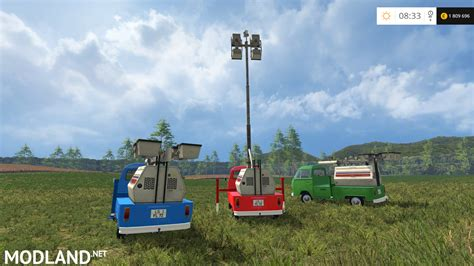 vw transporter t2b light camera mod for farming simulator