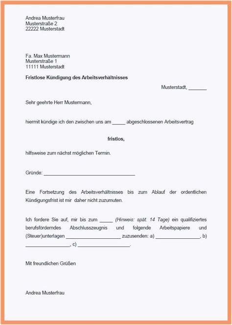 kuendigung arbeitsvertrag  freyajacklin