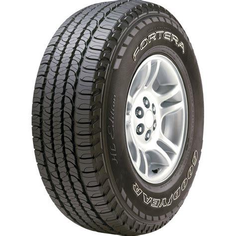 goodyear recalls fortera hl tires