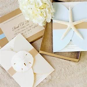 seal and send beach wedding invitations to set the tone With beach wedding invitations with photo