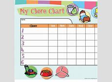 Customizable Chore Chart iMom