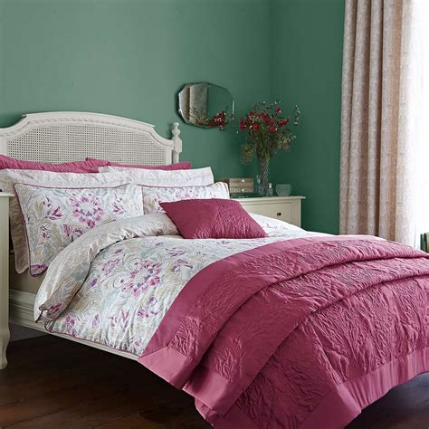 delilah raspberry duvet cover set dunelm house duvet