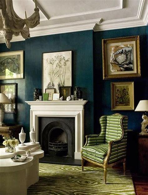 dark green color walls paperblog