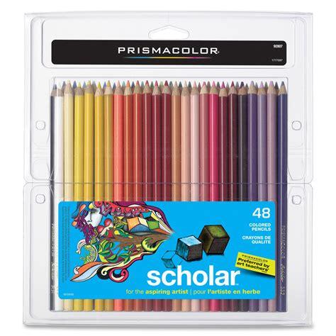 prismacolor 48 colored pencils prismacolor scholar colored pencil set 48 colors