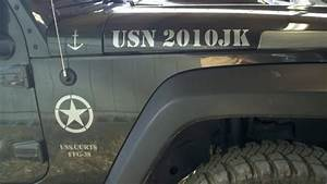 product jeep wrangler army usa says usn ssf 38 uss curts With kitchen cabinets lowes with navy car stickers