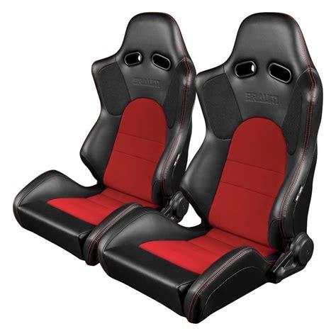 Braum® Brr2bkrd  Advan Series Carbon Fiber Sport Seats