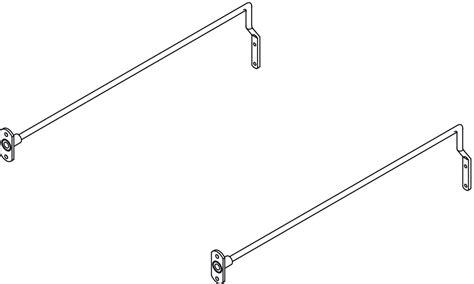 filing rails drawer mm length