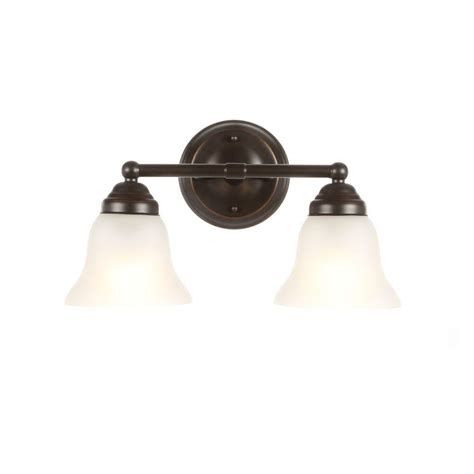 hton bay vanity light hton bay 2 light oil rubbed bronze vanity light