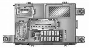 Ram Promaster City  2017  - Fuse Box Diagram