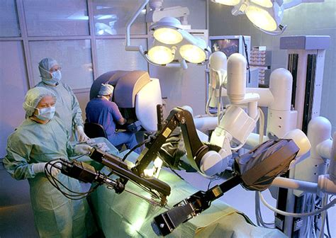 surgical robots operate  precision wired