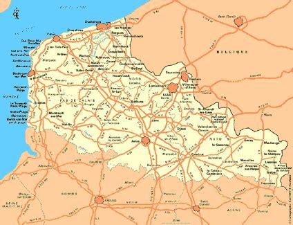 Carte Nord De La by Carte Nord Pas De Calais Plan Nord Pas De Calais