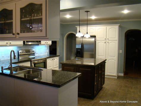 espresso kitchen cabinet kitchen remodel renovation early 90 s kitchen gets a 3592