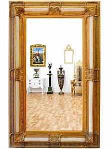 Miroir Baroque Doré : miroir baroque dor 160x98 cm meuble de style ~ Teatrodelosmanantiales.com Idées de Décoration