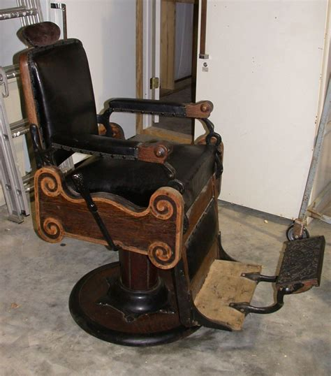 need to identify a chair antique barber chairs