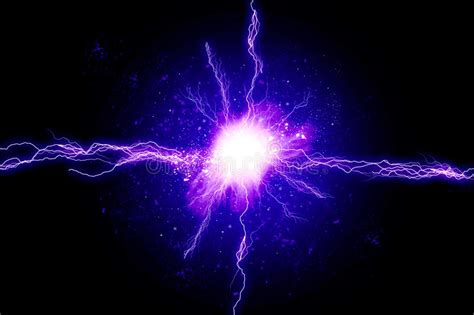 Blue Light Energy by Powerful Energy Stock Photography Image 36876442