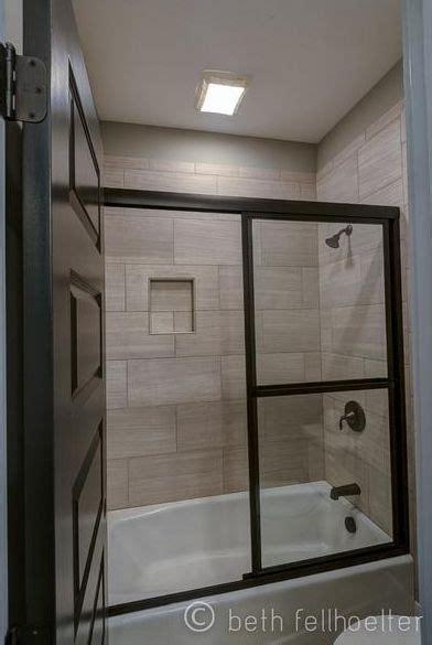12x24 tile tub surround 12 x 24 tile on bathtub shower surround bathroom guest