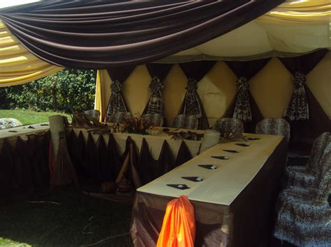 Wazzy Thoughts The Latest In African Themed Weddings