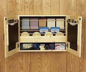 Get-It-All Together Sandpaper Cabinet Woodworking Plan