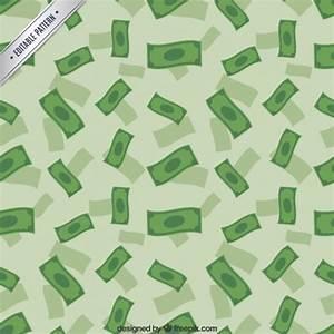 Money rain pattern Vector | Free Download