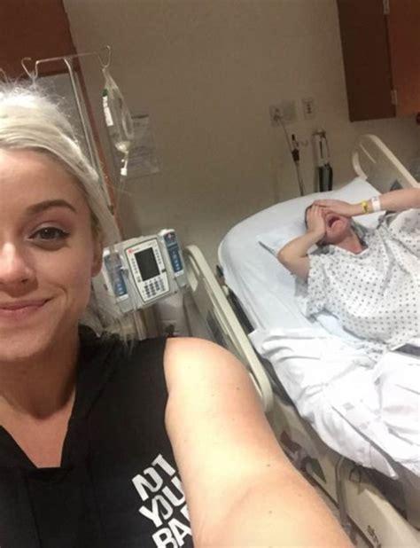 Girl Snaps Casual Selfie As Her Sister Is In Agonising