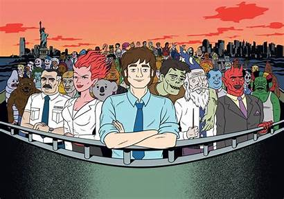 Ugly Americans Wallpapers