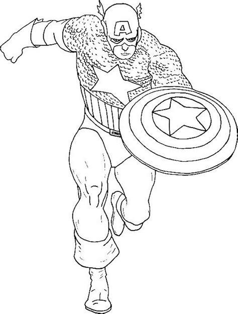 captain marvel disegni da colorare pagine da colorare