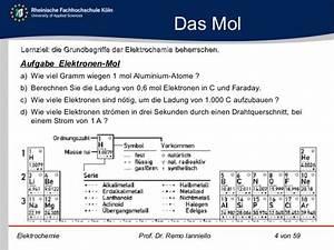 Mol Berechnen : f elektrochemie ~ Themetempest.com Abrechnung