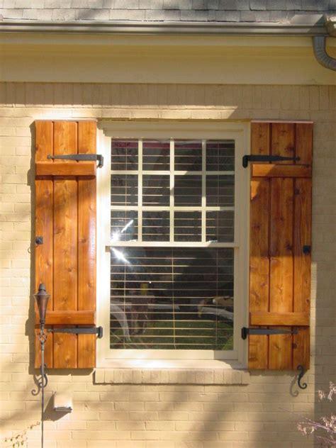 cedar wood shutter house shutters shutters exterior