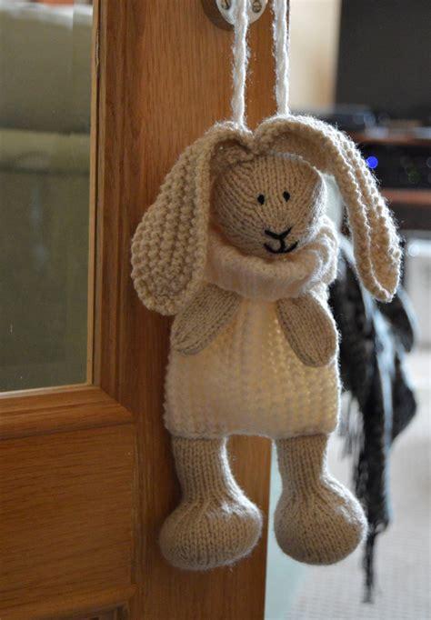 bunny baggles easter knitting pattern knitting  post