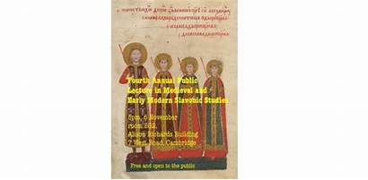 Slavonic Lecture Annual Medieval Modern Early Melichar