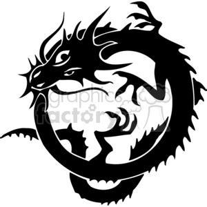 royalty  chinese dragons   vector clip art