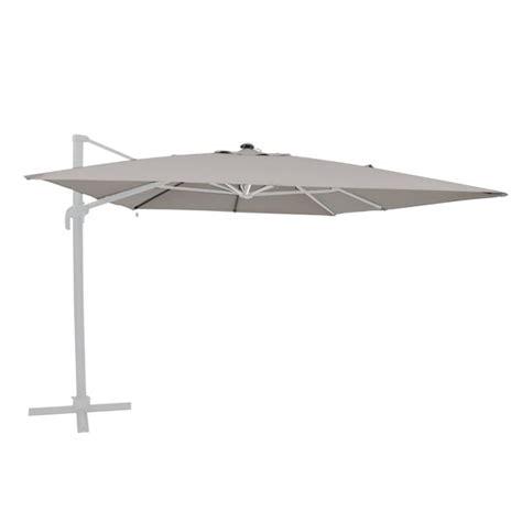 toile de remplacement pour parasol d 233 port 233 shiny gris galet oogarden belgique