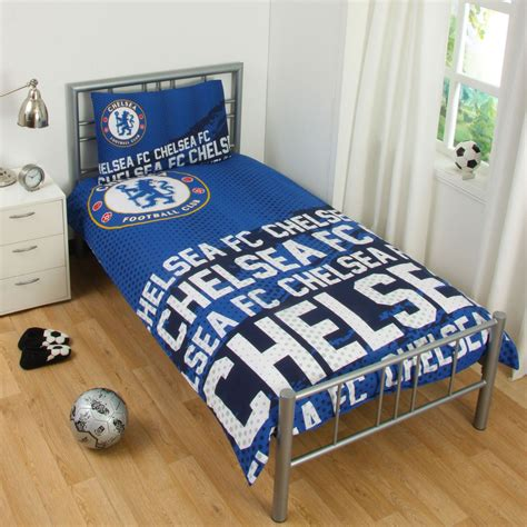 football comforter set official chelsea football bedding duvet cover sets boys