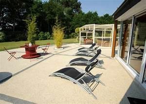 terrasse en beton decoratif prix et conseils pour bien With beton couleur pour terrasse