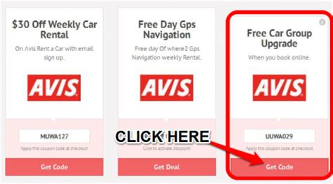 avis car rental canada coupons 2018