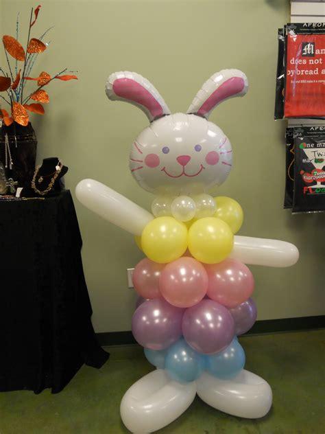 easter balloons bunny balloon columns balloons balloon